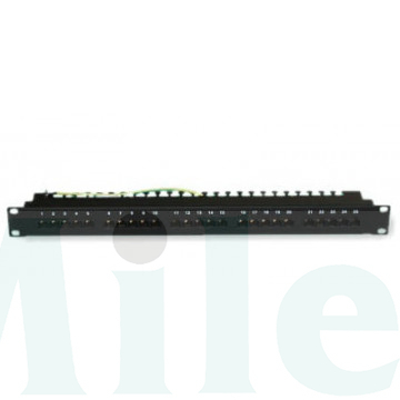 Patch Panel 25 port CAT3 ISDN