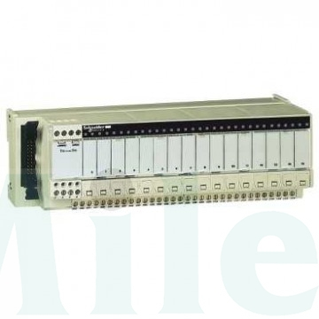 16 DO, 24VDC, Isolator & fuse per ch, LED