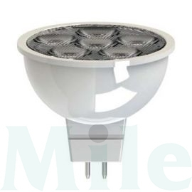 LED lámpa akciós tükrös 4W- 12V AC GU5.3 380lm 35° LED4/MR16/827/12V /GU5.3/35BX1/8ST GE Lighting