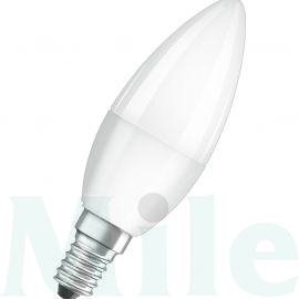LED lámpa gyertya 5.7W- 40W 220-240V AC E14 470lm 827 230° 15000h A+-en.o. LED Value CLB LEDVANCE