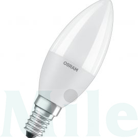 LED lámpa gyertya 7W- 60W 220-240V AC E14 806lm 827 230° 15000h A+-en.o. LED Value CLB LEDVANCE